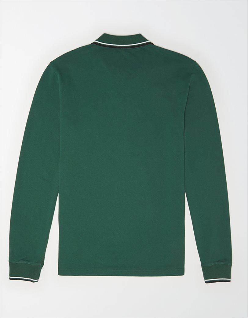 AE Long Sleeve Tipped Polo Shirt 1
