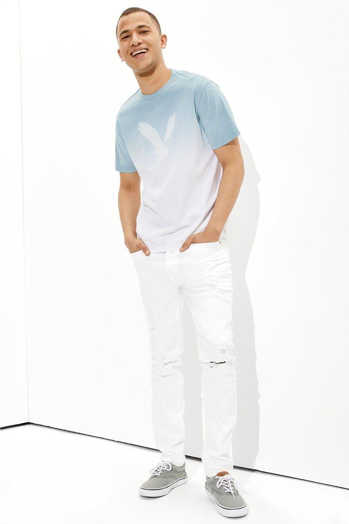 AE Dip-Dye Graphic T-Shirt Γαλάζιο 0