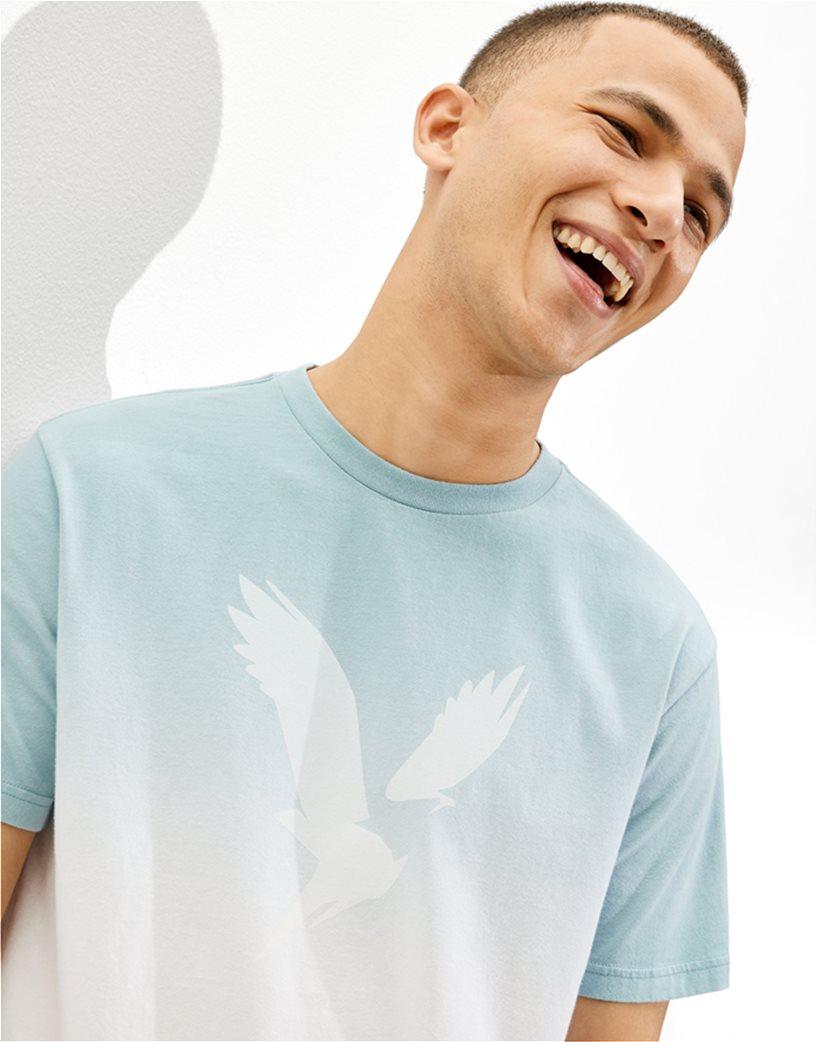 AE Dip-Dye Graphic T-Shirt Γαλάζιο 1