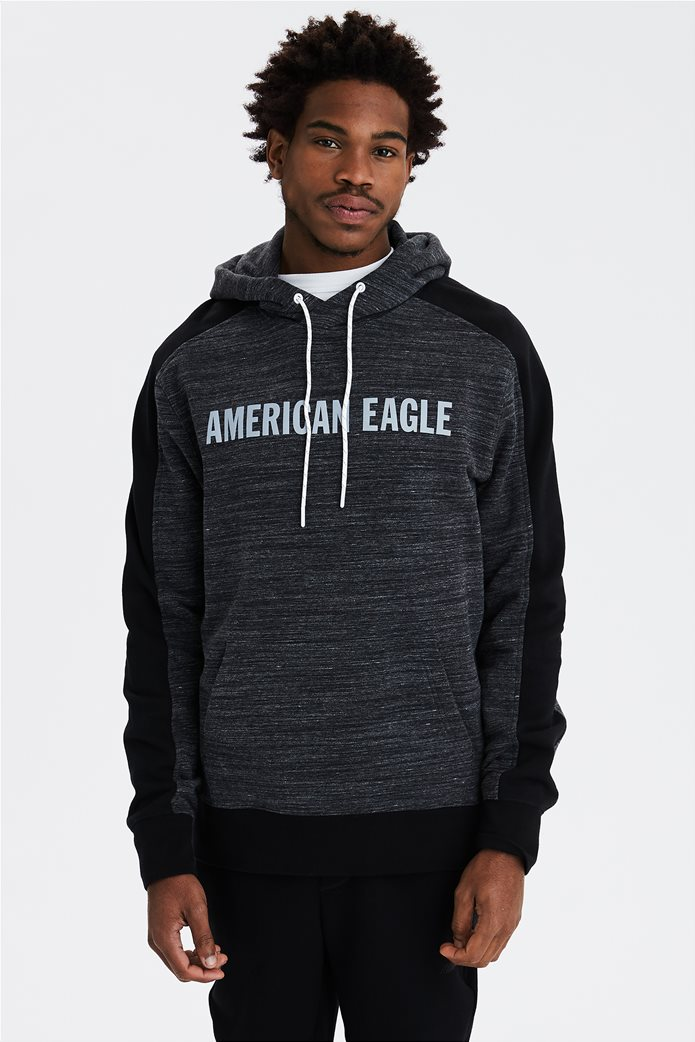 AE Reflective Graphic Pullover Hoodie 0