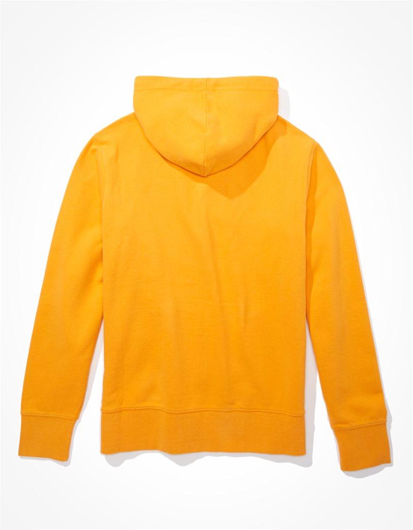 AE Branded Zip-Up Hoodie Κίτρινο 1