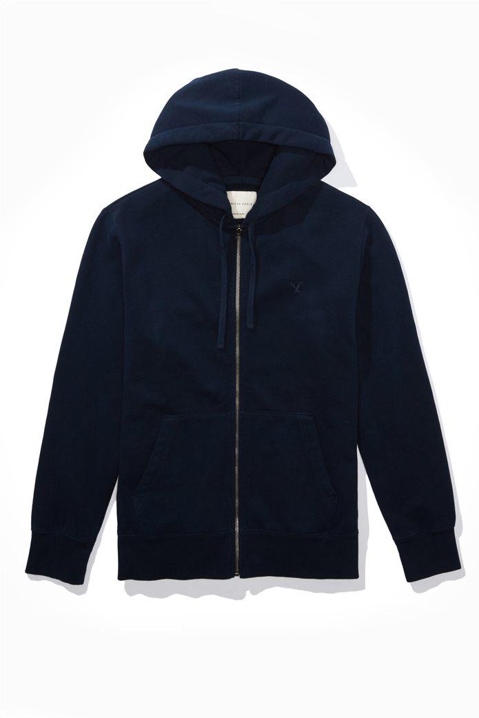 AE Zip-Up Hoodie Μπλε Σκούρο 0