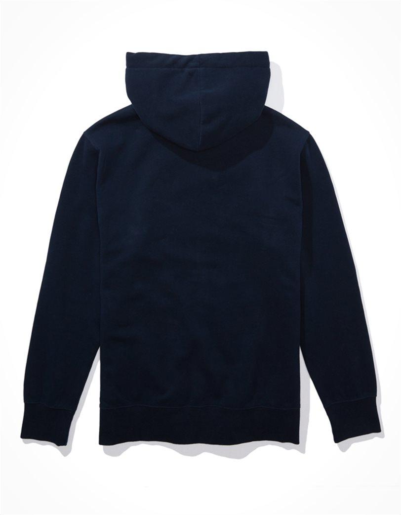 AE Zip-Up Hoodie Μπλε Σκούρο 1