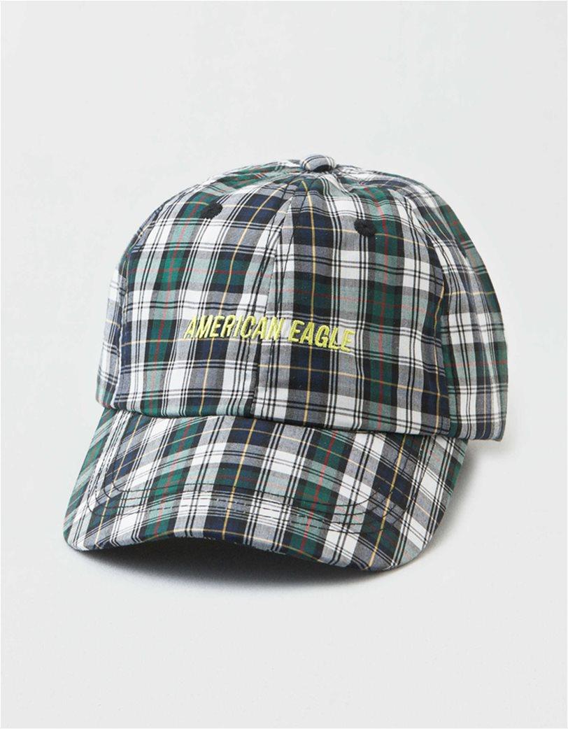AEO Plaid Baseball Hat 1