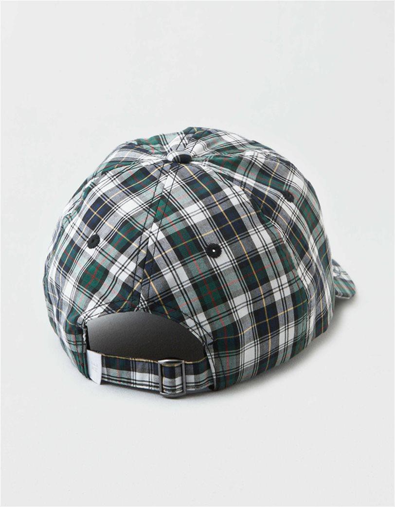 AEO Plaid Baseball Hat 2