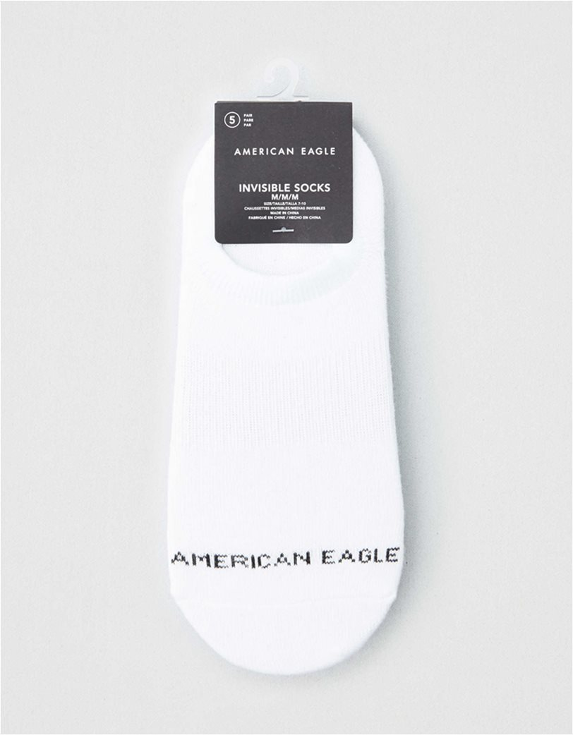 AEO Invisible Socks 5-Pack 1