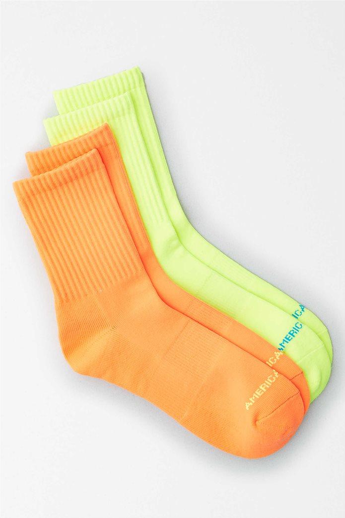 AEO Neon Mid Length Socks 2-Pack Πολύχρωμο 0