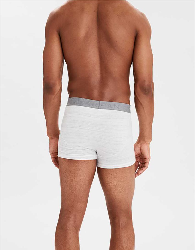 "AEO Space Dye 3"" Classic Trunk Underwear Λευκό 1"
