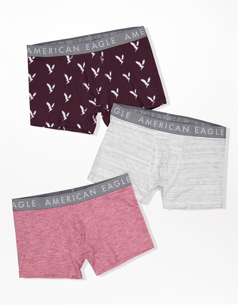 "AEO 3"" Classic Trunk Underwear Μπορντό 2"
