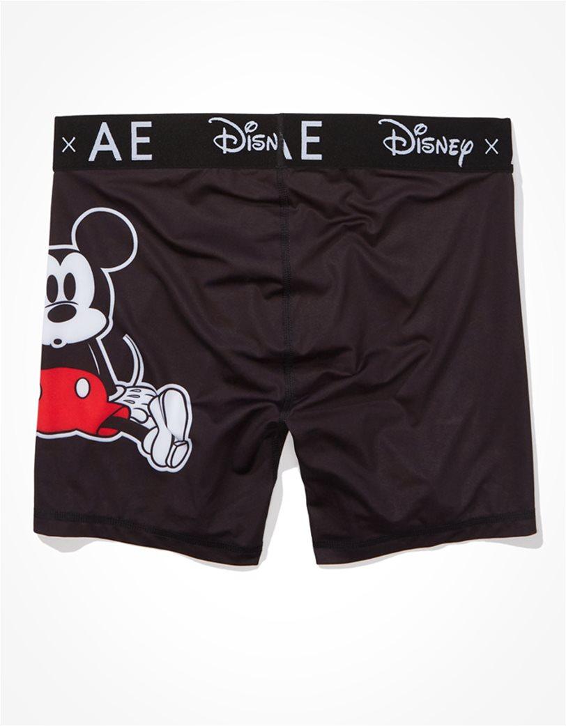"Disney X AE 6"" Flex Boxer Brief Μαύρο 3"