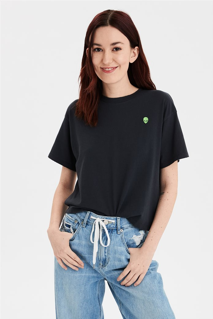 AE Embroidered Graphic T-Shirt 0