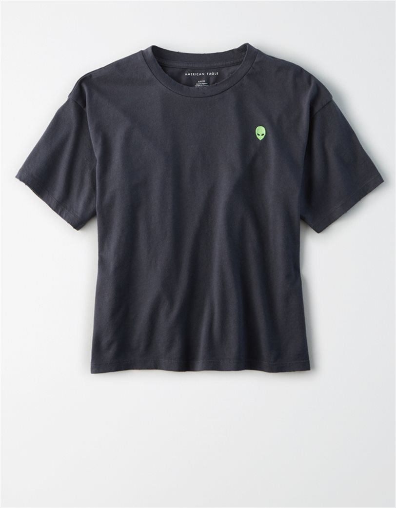 AE Embroidered Graphic T-Shirt 2