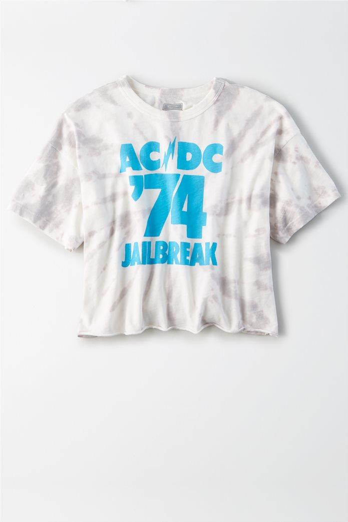 AE ACDC Graphic T-Shirt Μπεζ 0