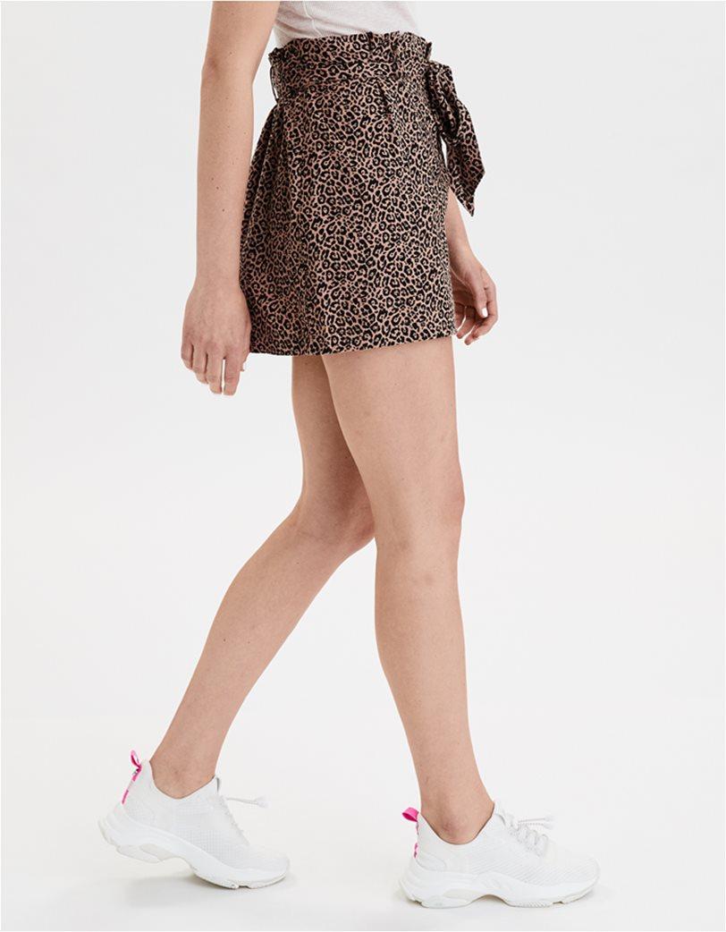 AE High-Waisted Paperbag Mini Skirt 2