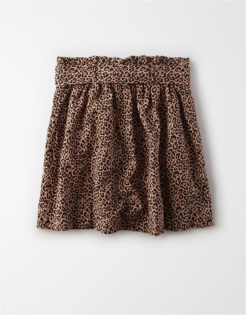 AE High-Waisted Paperbag Mini Skirt 4