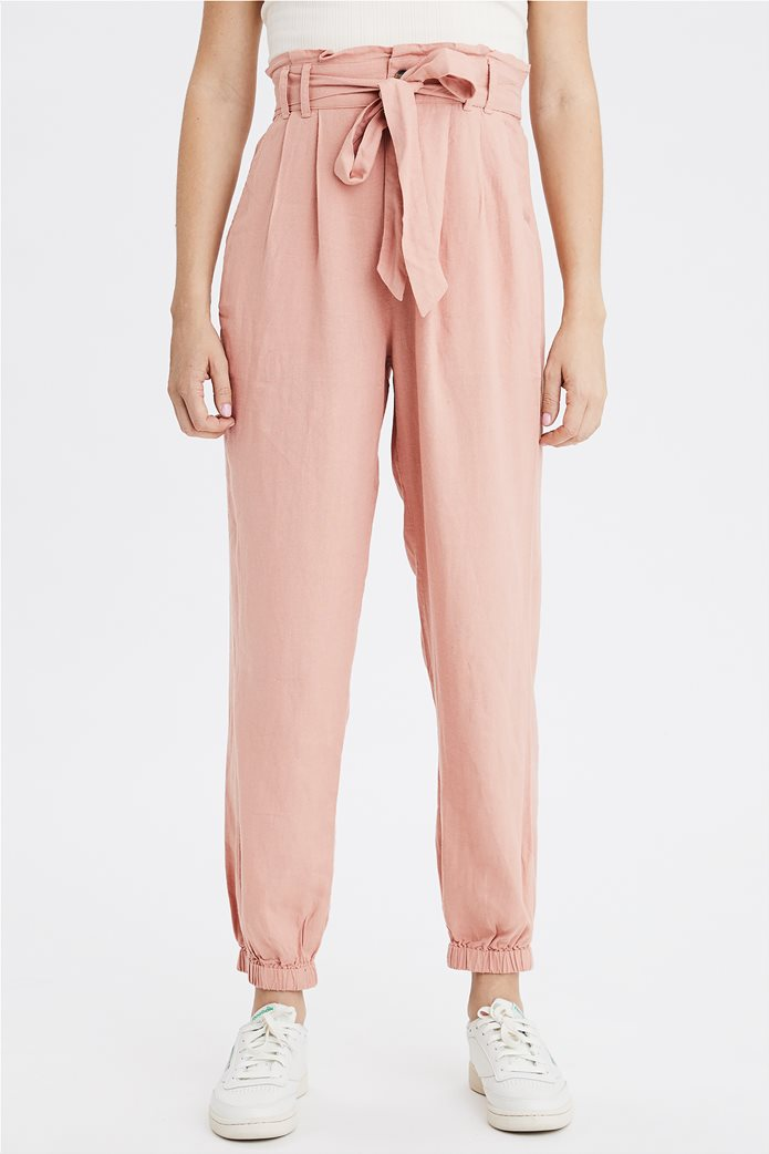 AE High-Waisted Paperbag Jogger 0