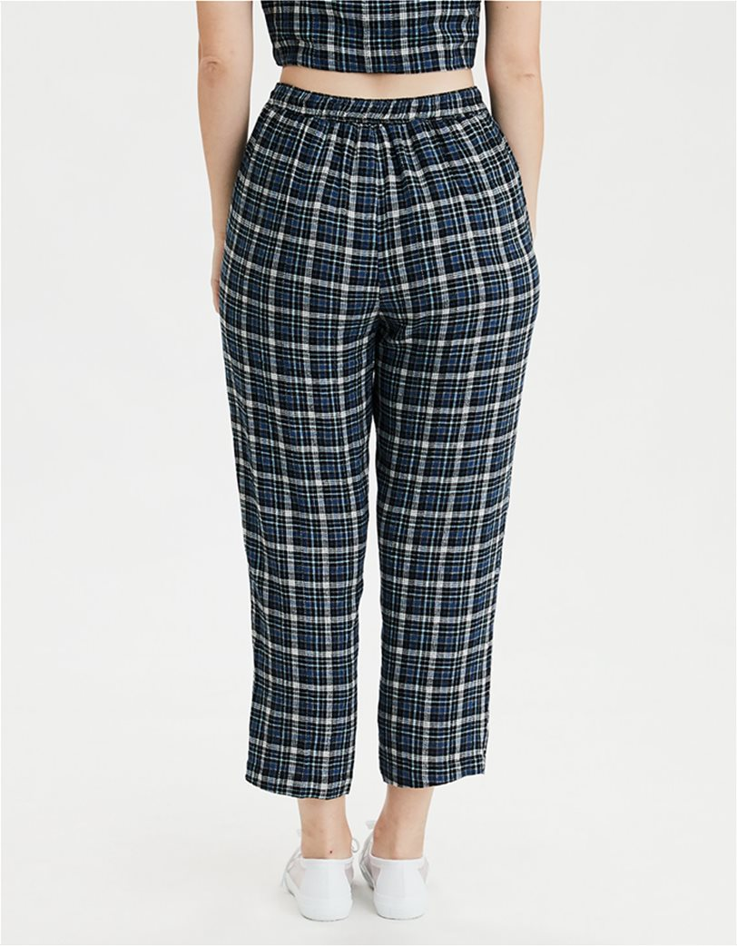 AE High-Waisted Plaid Taper Pant 1