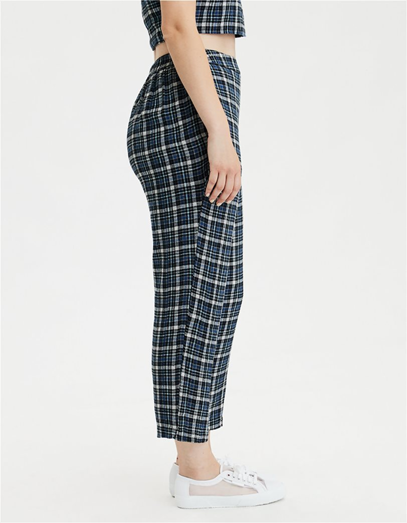 AE High-Waisted Plaid Taper Pant 2