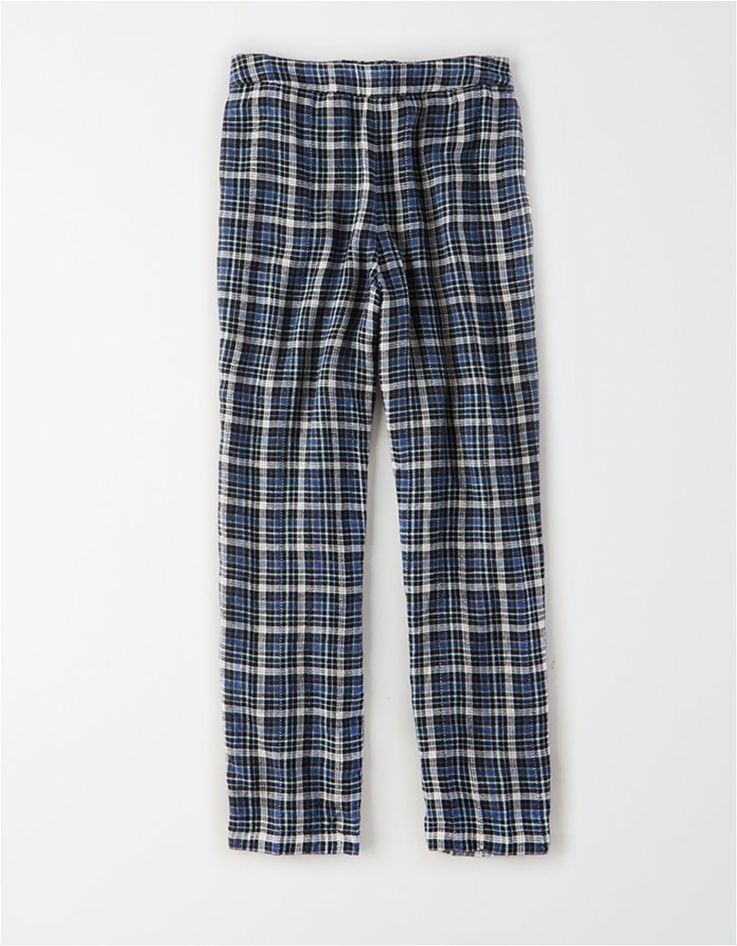 AE High-Waisted Plaid Taper Pant 3