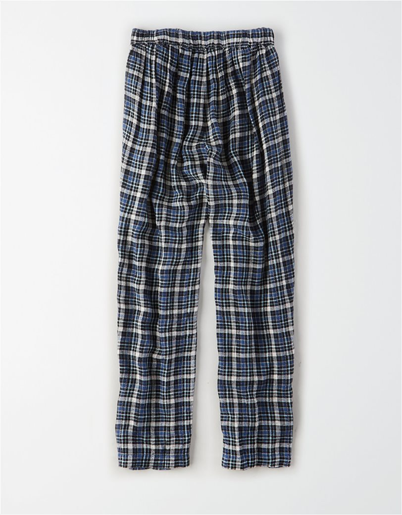 AE High-Waisted Plaid Taper Pant 4
