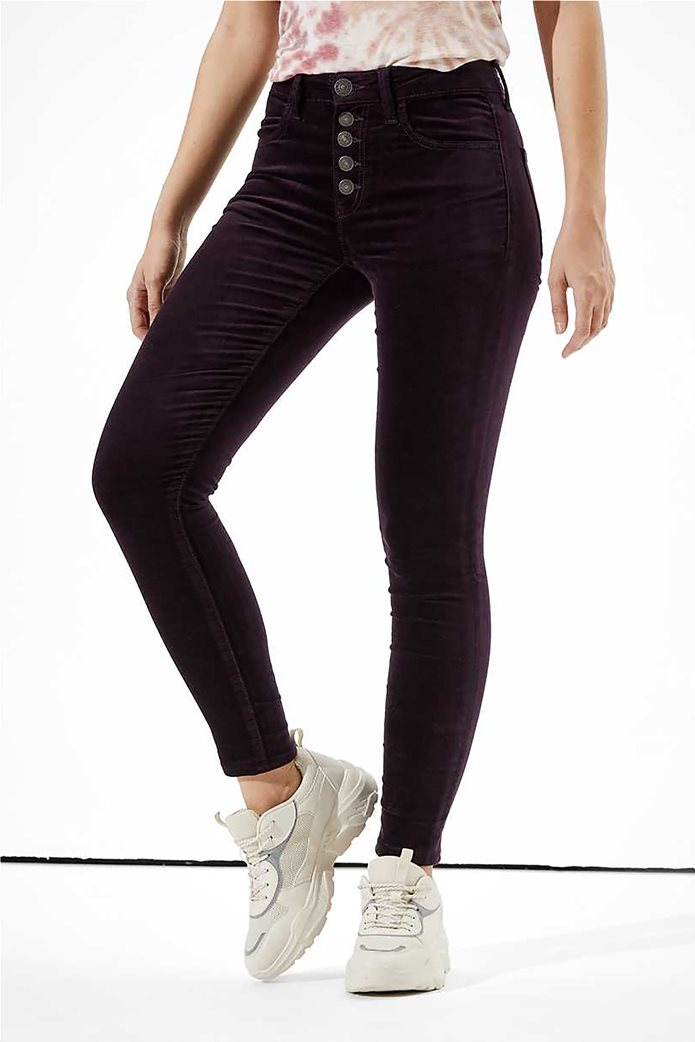 AE High-Waisted Velvet Jegging 0