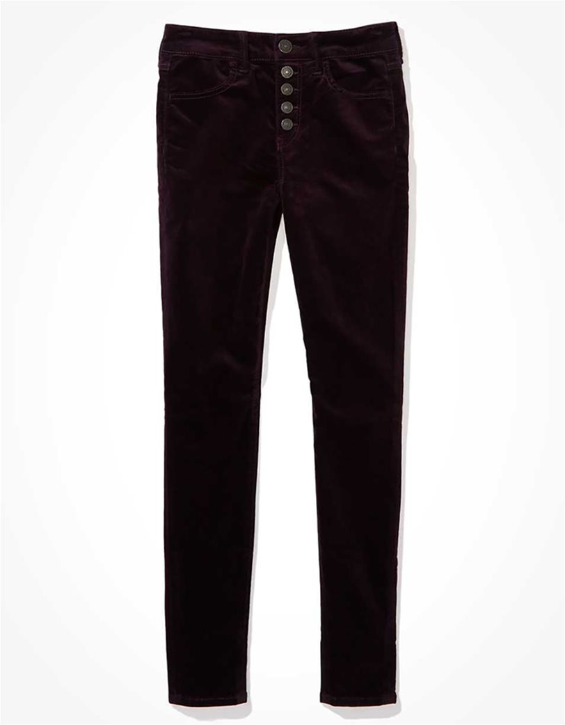 AE High-Waisted Velvet Jegging 3