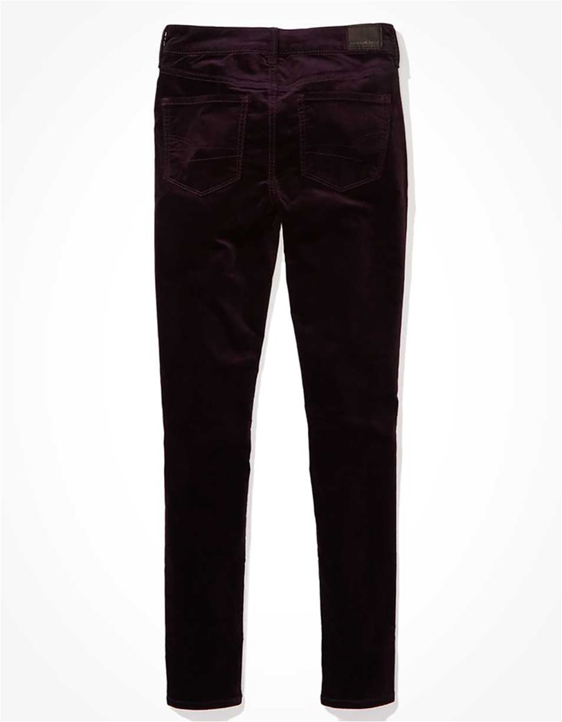 AE High-Waisted Velvet Jegging 4