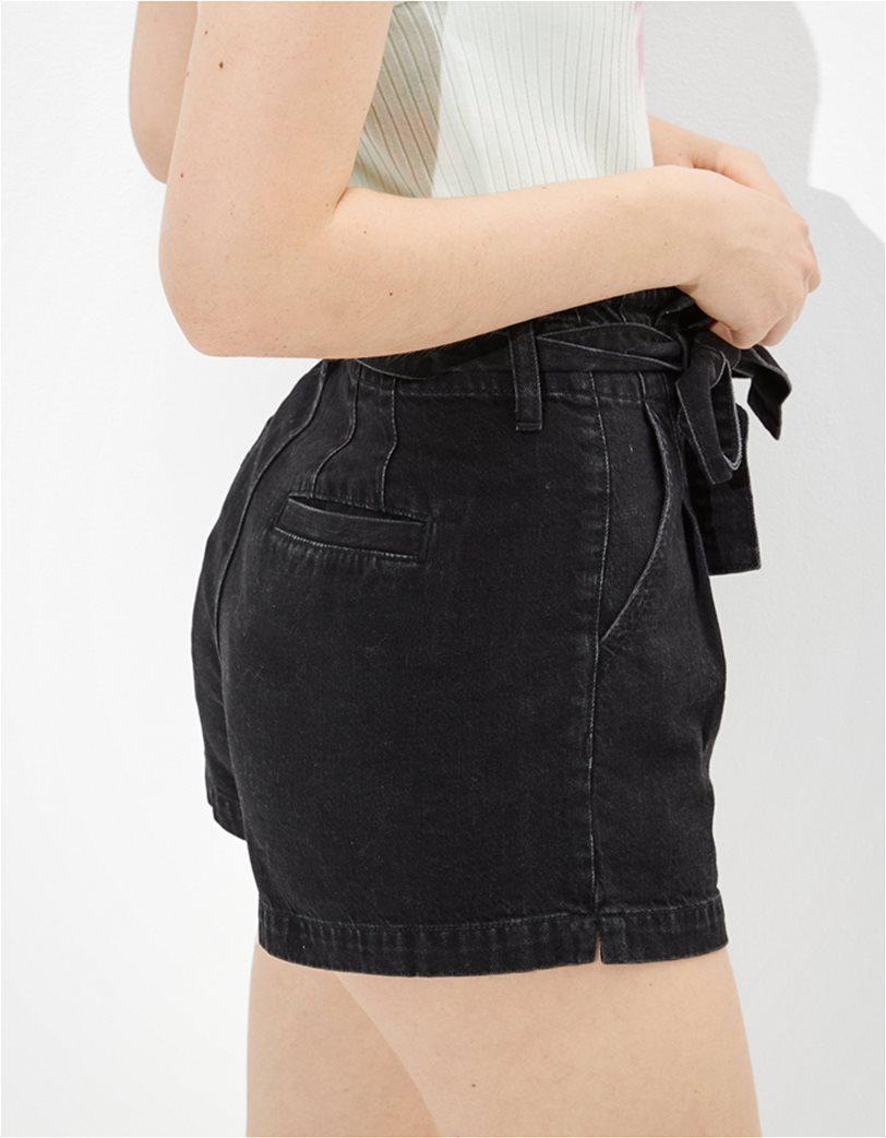 AE Paperbag Denim Mom Shorts 1