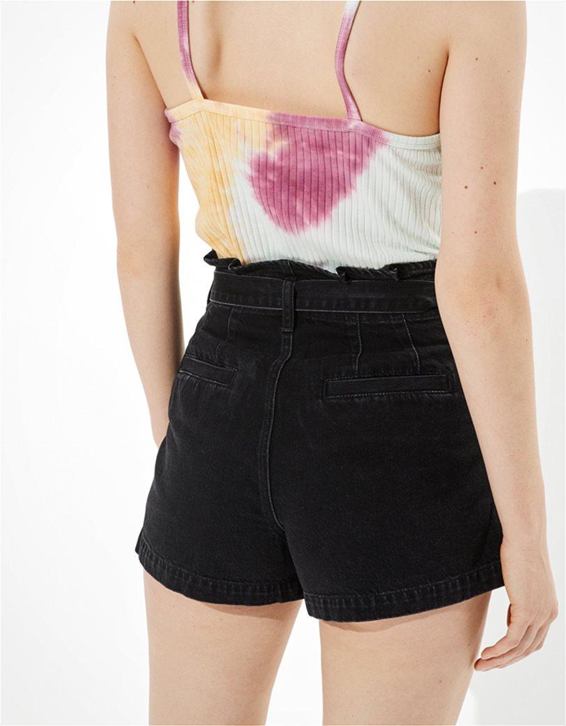 AE Paperbag Denim Mom Shorts 2