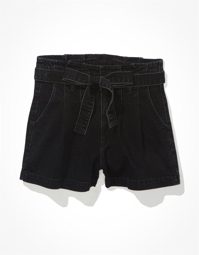 AE Paperbag Denim Mom Shorts 3