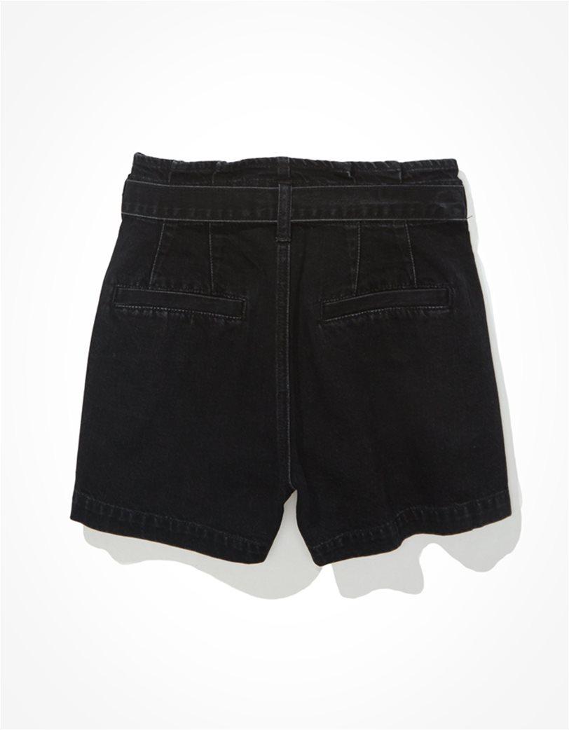 AE Paperbag Denim Mom Shorts 4