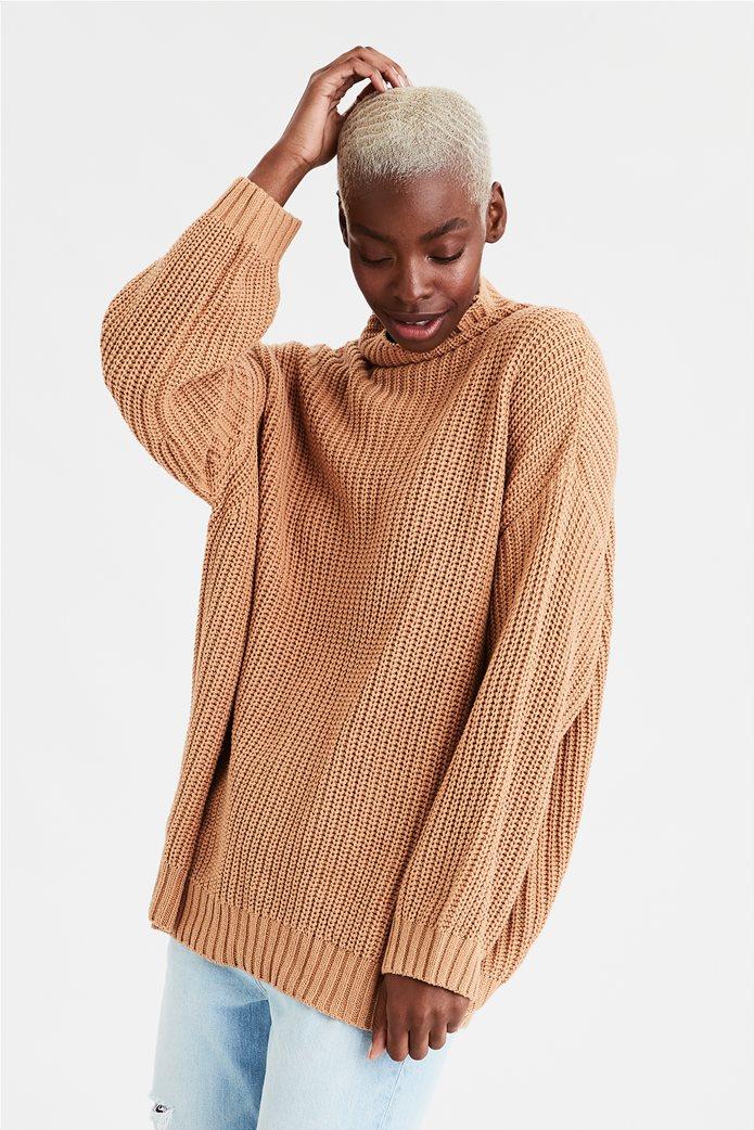 AE Mock Neck Oversized Sweater 0