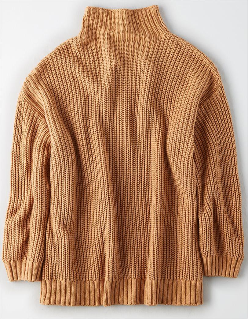 AE Mock Neck Oversized Sweater 3