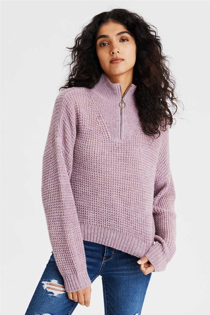 AE Quarter Zip Pullover Sweater 0