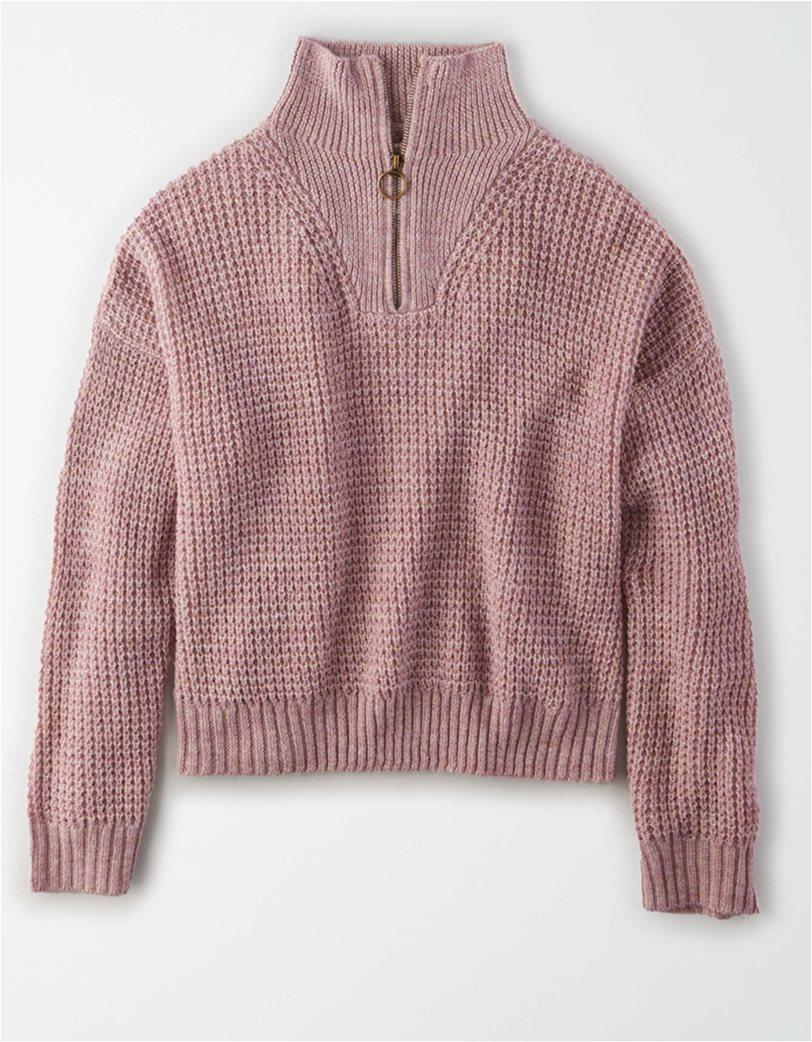 AE Quarter Zip Pullover Sweater 2