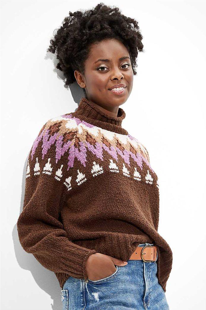 AE Fairisle Mock Neck Sweater 0