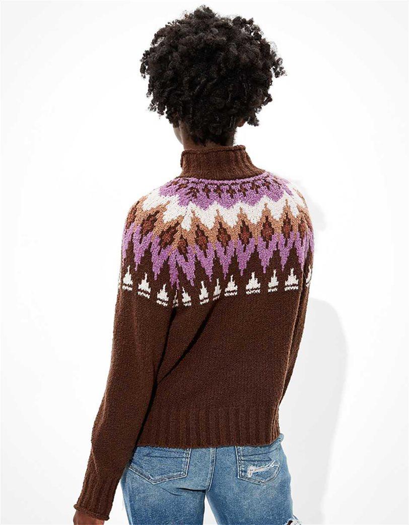 AE Fairisle Mock Neck Sweater 1