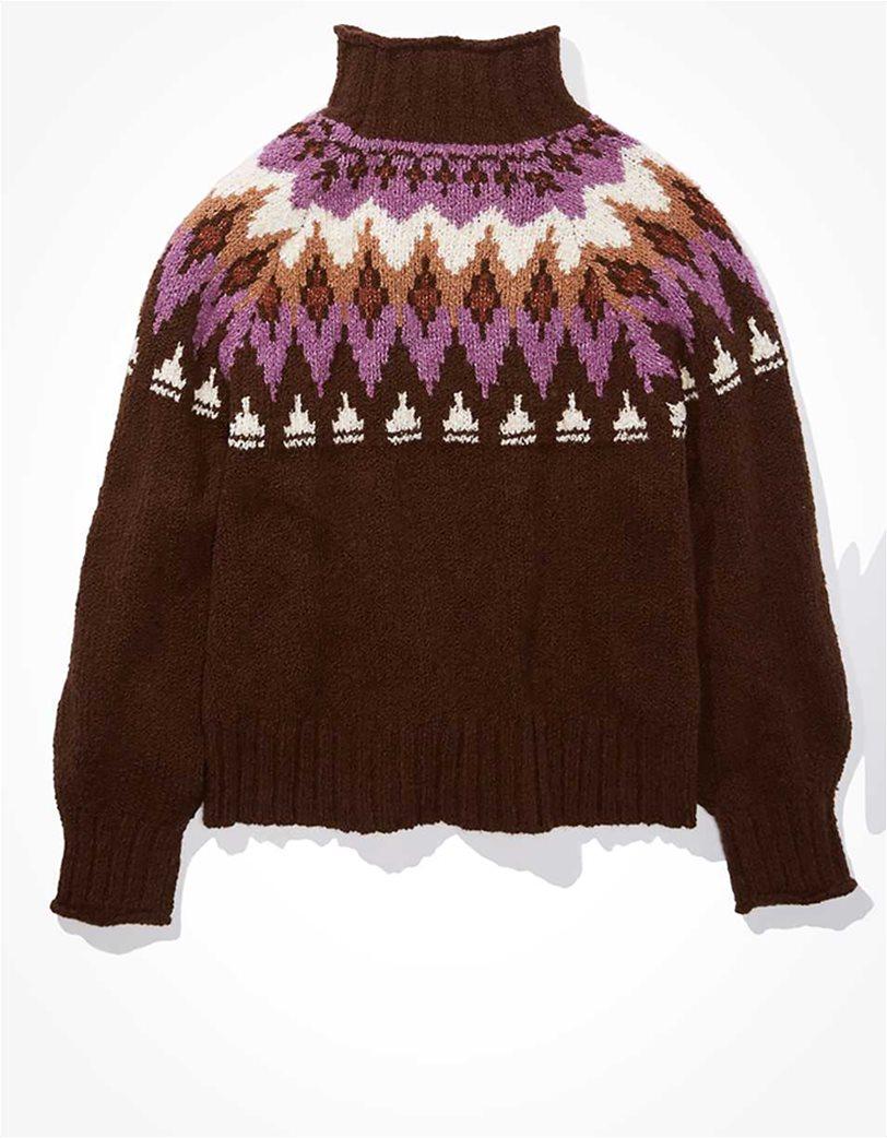 AE Fairisle Mock Neck Sweater 3