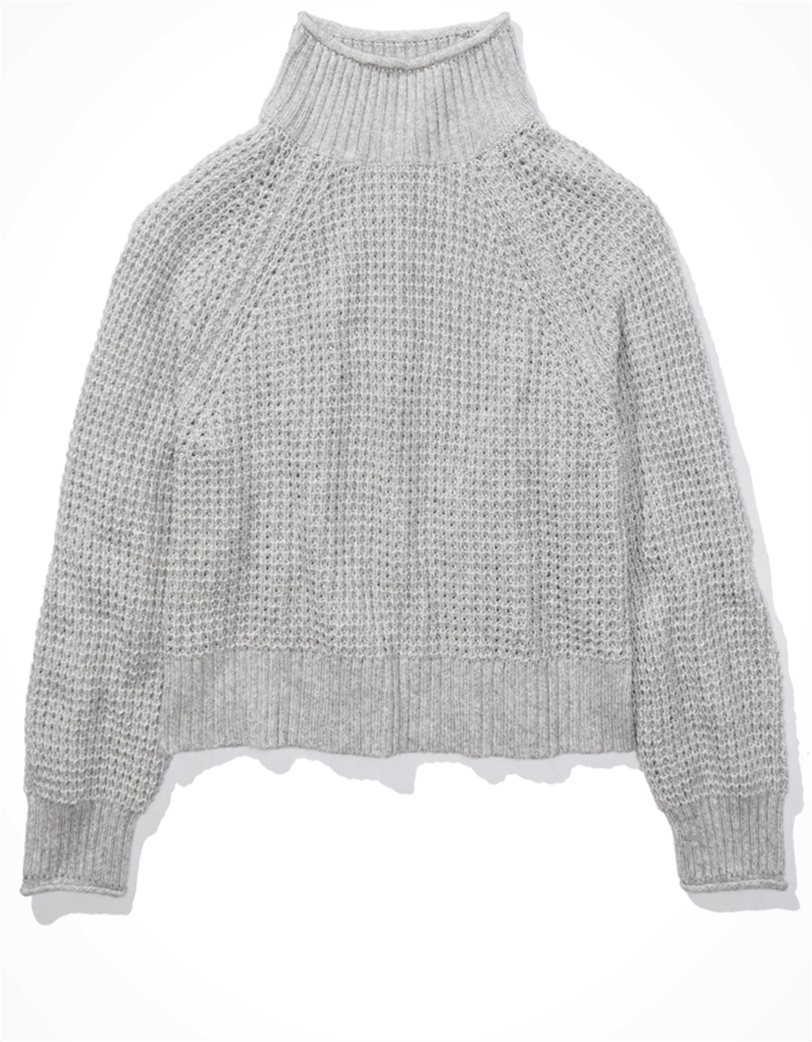 AE Dreamspun Mock Neck Sweater 2