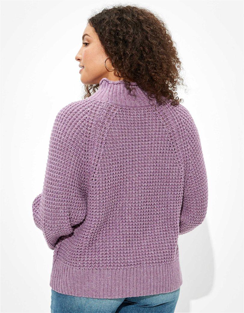 AE Dreamspun Mock Neck Sweater 1