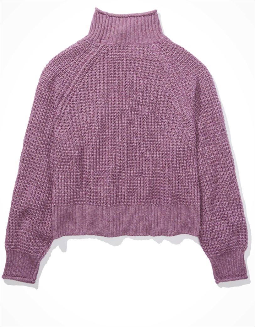 AE Dreamspun Mock Neck Sweater 3