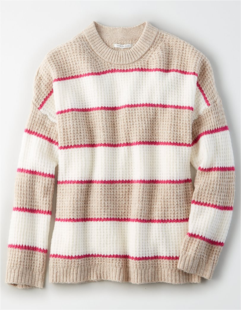 AE Striped Oversized Sweater 2
