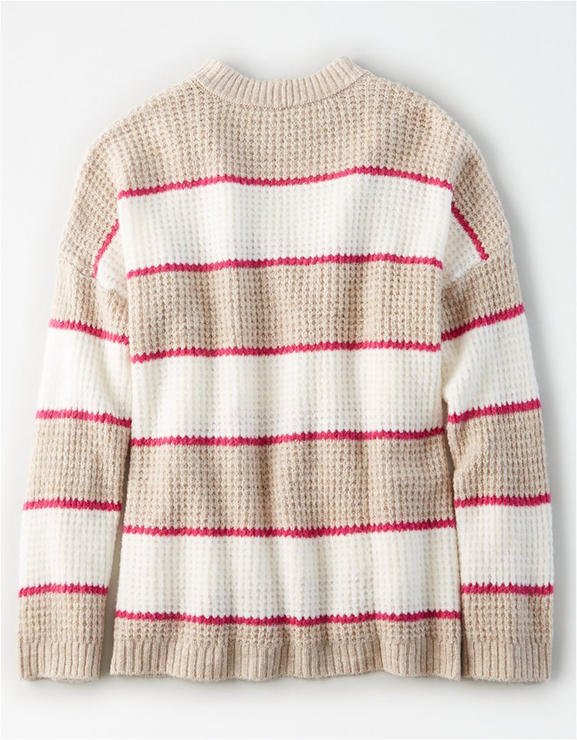 AE Striped Oversized Sweater 3