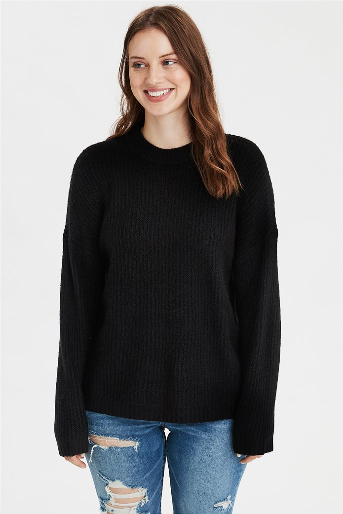 AE Oversized Long Pullover Sweater 0