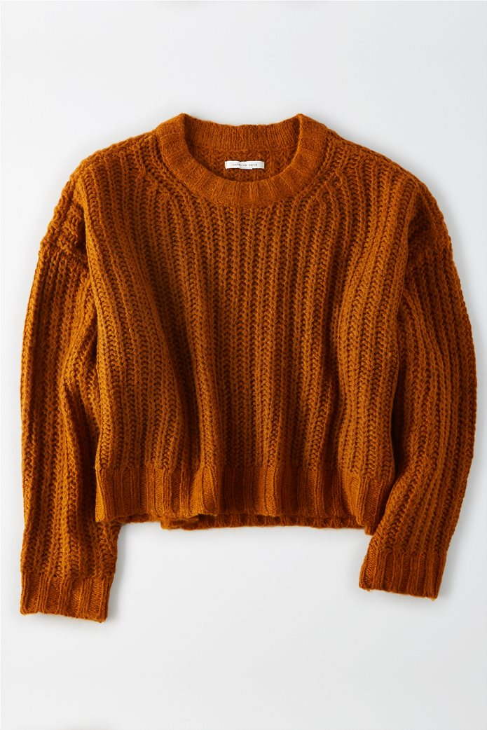 AE Cropped Crew Neck Sweater 0