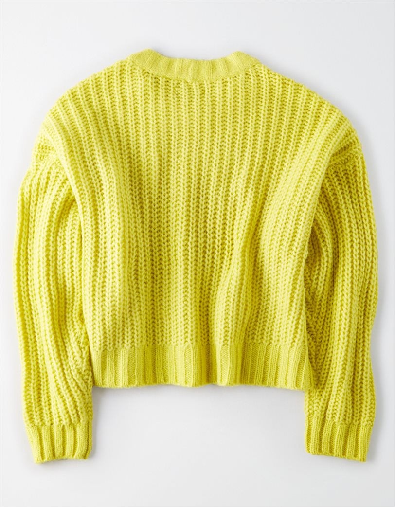 AE Cropped Crew Neck Sweater 1