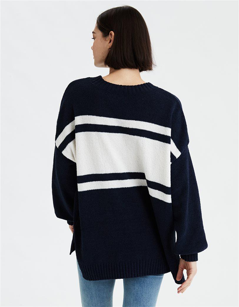 AE Chenille Crew Neck Oversized Sweater 1