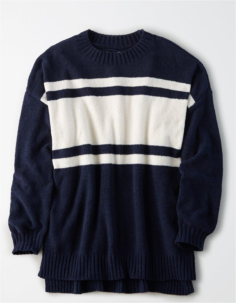 AE Chenille Crew Neck Oversized Sweater 2