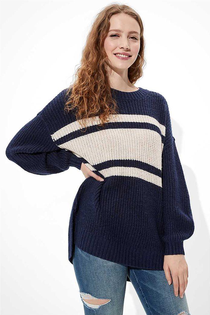 AE Oversized Dreamspun Crew Neck Sweater 0