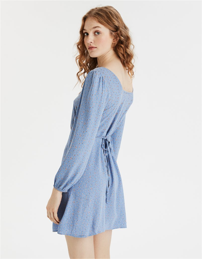 AE Long Sleeve Square Neck Mini Dress 1